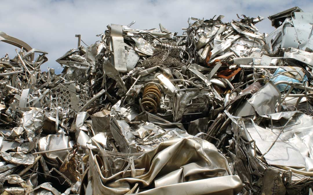 What affects the price of scrap metal?